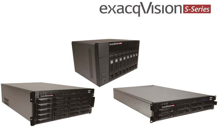 exacqVision Sシリーズ