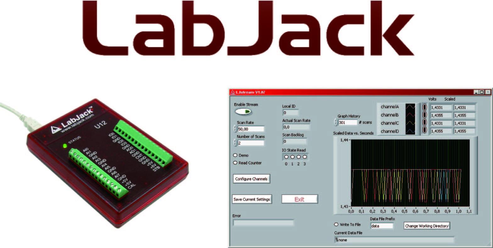 Labjack U12用インストーラ