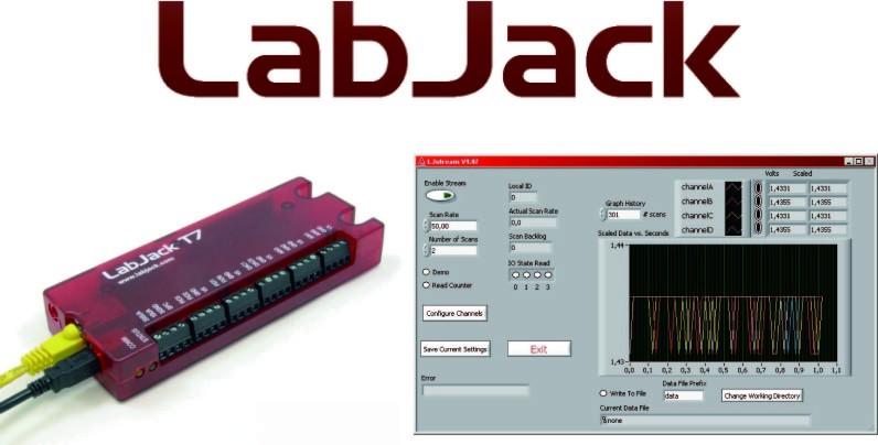 Labjack T7/Digit用インストーラ